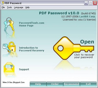 Pdf password remover adult recovery