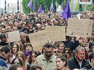 25 de noviembre: ¡Lucha feminista socialista contra la violencia de género!