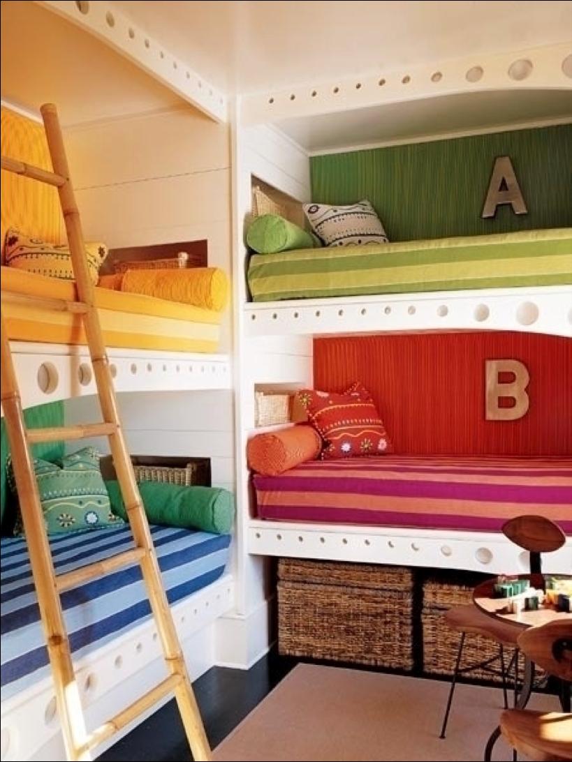 Дизайн комнаты для 4 человек фото