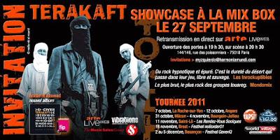Terakaft à la Mix Box Live - Paris