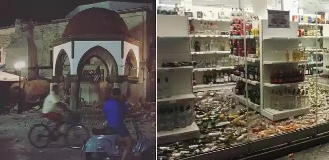 Σεισμός 6,4 ρίχτερ στα Δωδεκάνησα -  Δύο νεκροί στην Κω - Κατέρρευσε οροφή νυχτερινού κέντρου