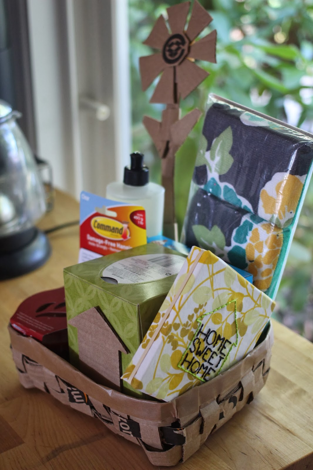 The experimental crafter simple housewarming gift basket for What to buy for housewarming gift