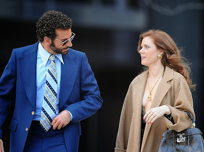 Spotted: Amy Adams in Gucci on Set of American Hustle