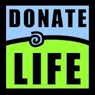 Be an organ donor, and give someone a second chance at life.