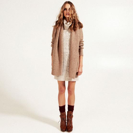 Stradivarius colección otoño-invierno 2011 2012 lookbook mujer