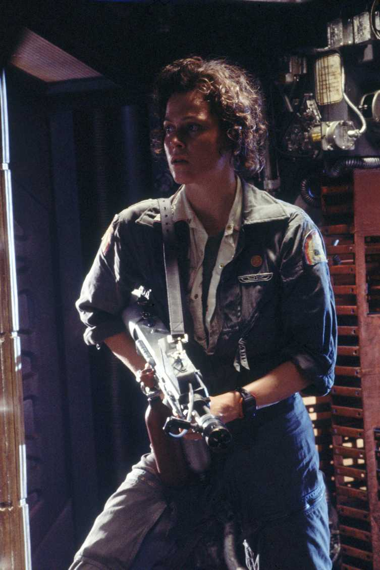 Sex Symbol And Movie Heroine: Sigourney Weaver As Warrant Officer Ripley