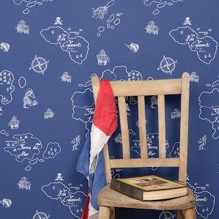Hibou Home | Contemporary Children's Wallpaper