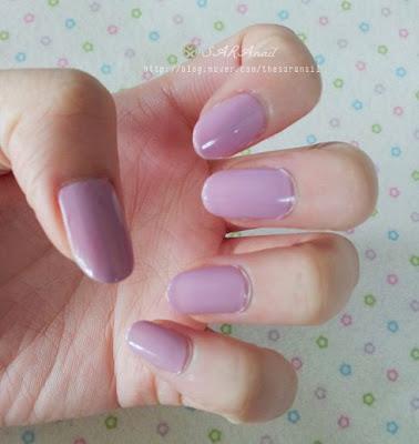Purple Pastel Leopard Print Nail Art