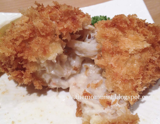Creamy Crab at Yabu