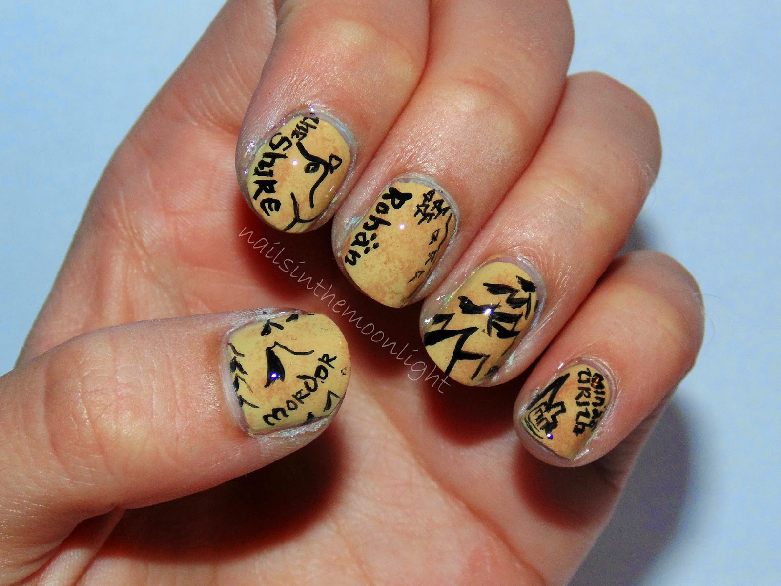 Fandom June Day 13: Lord of the Rings/The Hobbit | nailsinthemoonlight