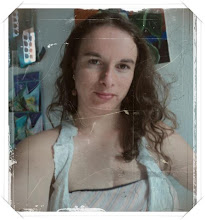 Essa linda moça é a Madrinha de meu Blog