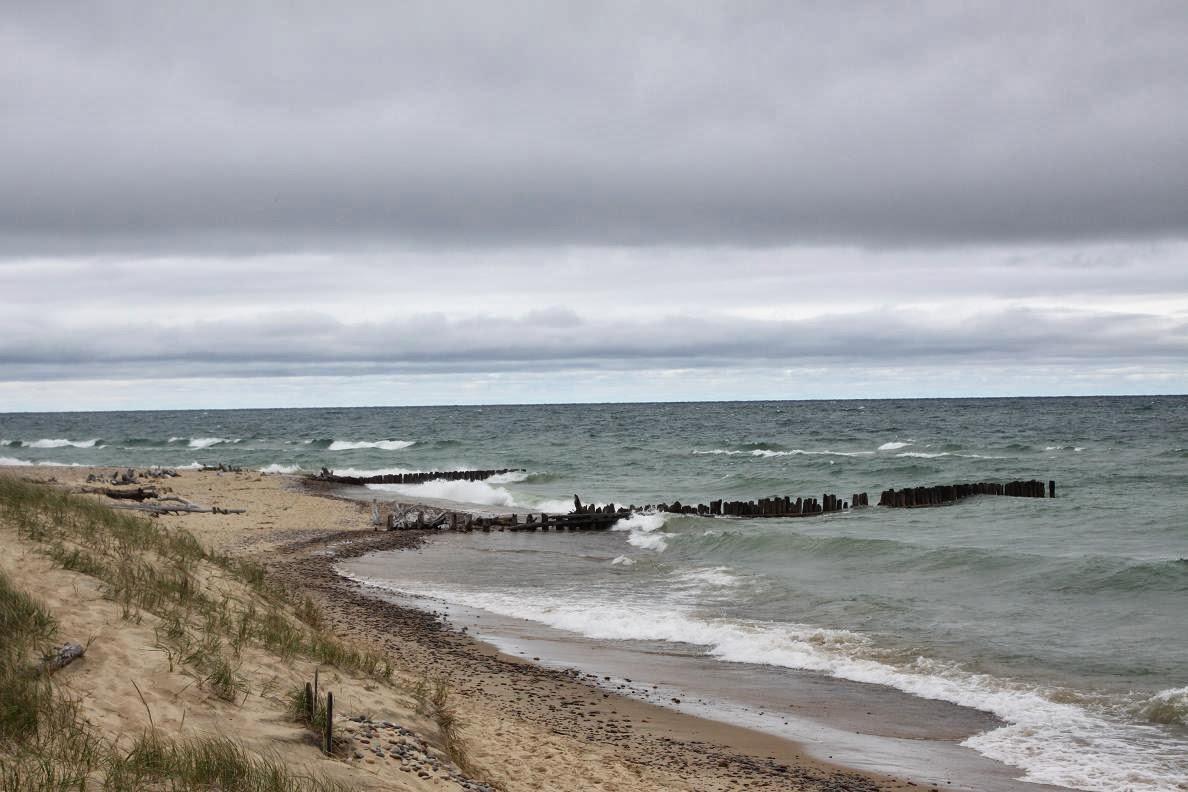 Michigan exposures still dodging rain at whitefish point for White fish point