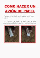 Cómo hacer un avión de papel