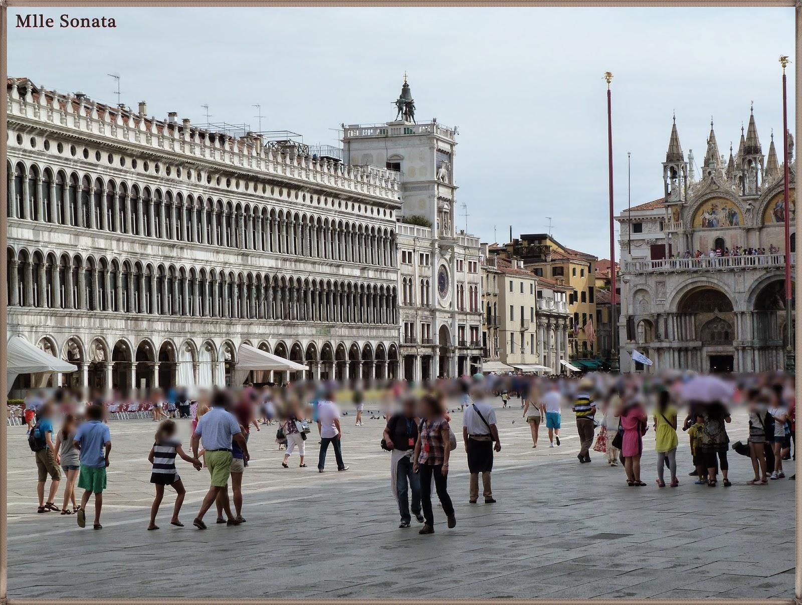 Voyage Italie Venise place Saint Marc