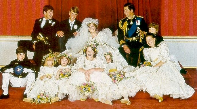 princess diana wedding photos. hot princess diana wedding