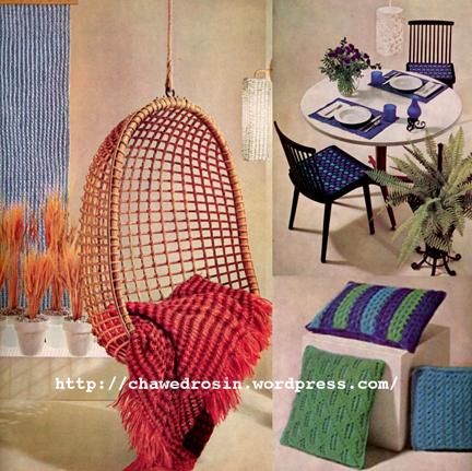 Http Thevintagepatternfiles Blogspot Co Uk 2012 10 1960s Knitting Home Decor Html