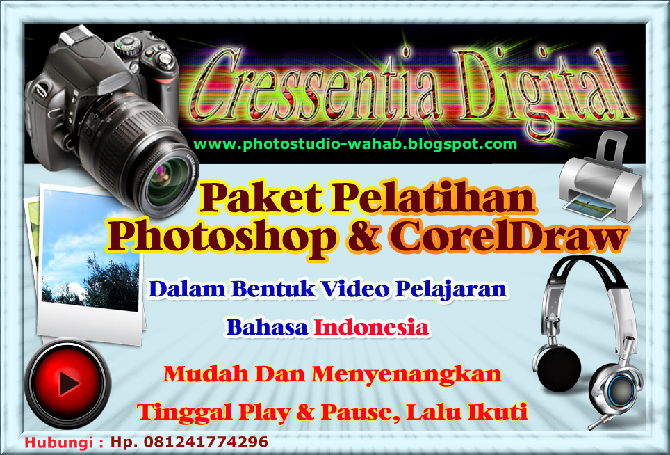 Belajar Photoshop | Tutorial Photoshop | Cara Edit Photo