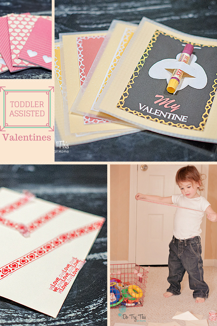 Toddler assisted valentines
