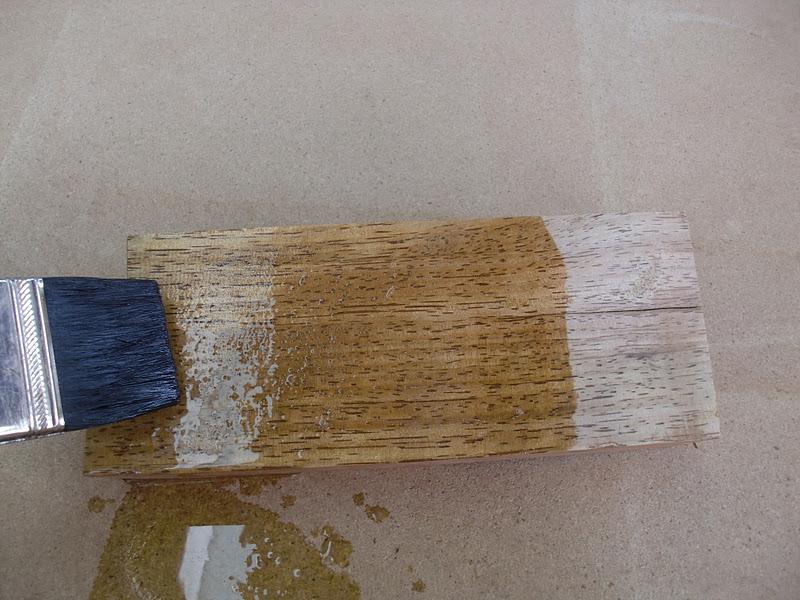 decoraciones manualidades en madera como blanquear un