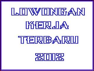 Lowongan Kerja Yogyakarta September 2012