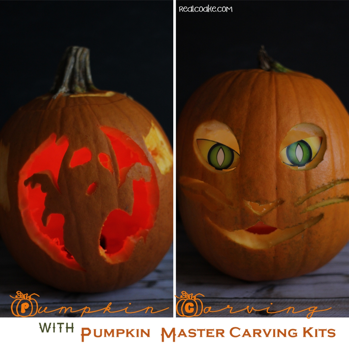 Pumpkin Carving Family Fun - The Real Thing with the Coake Family