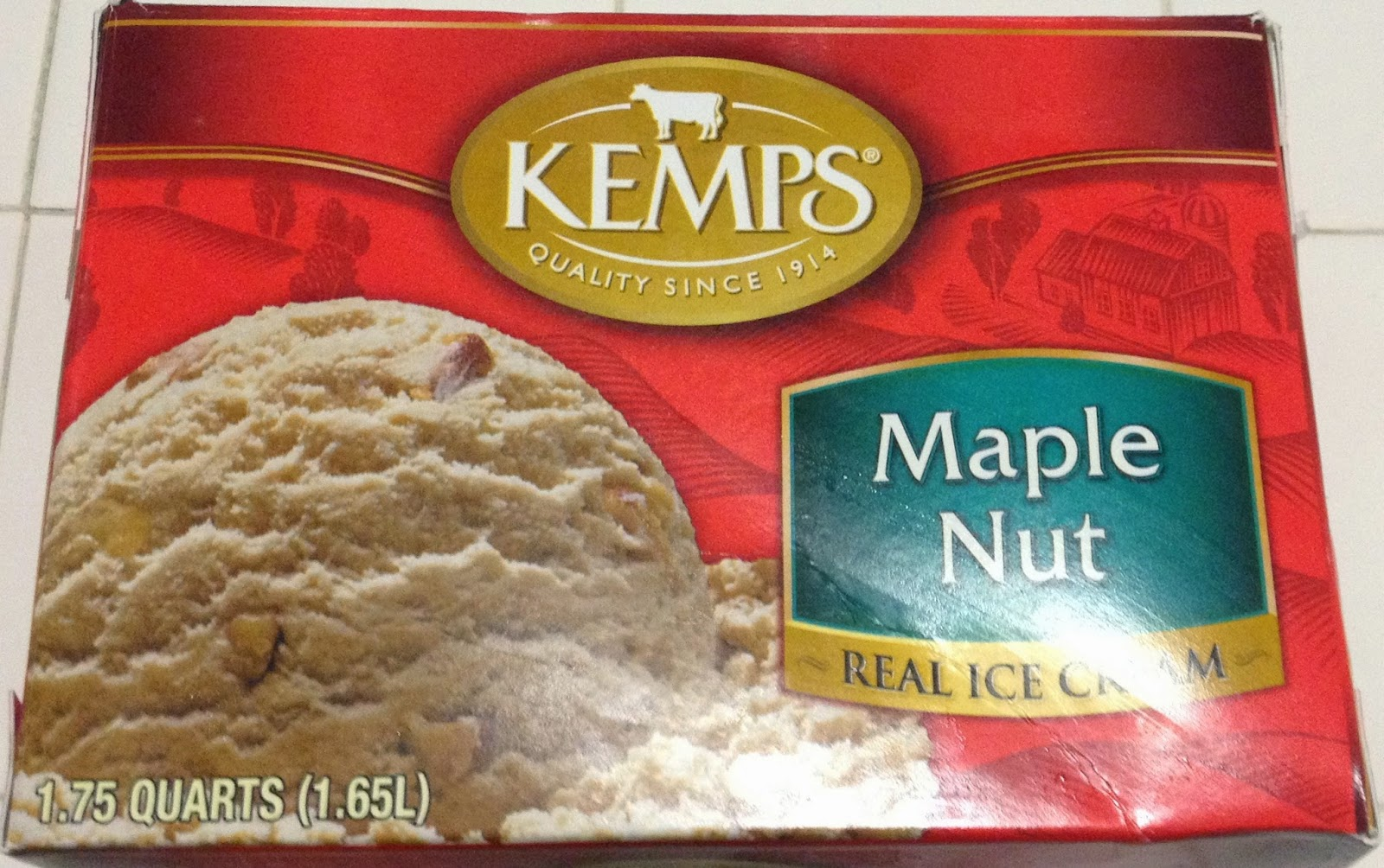 Kemps Maple Nut Ice Cream