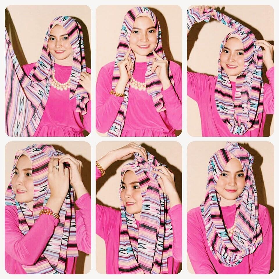 Cut Raneey Hijab Tutorial Hijab Pashmina