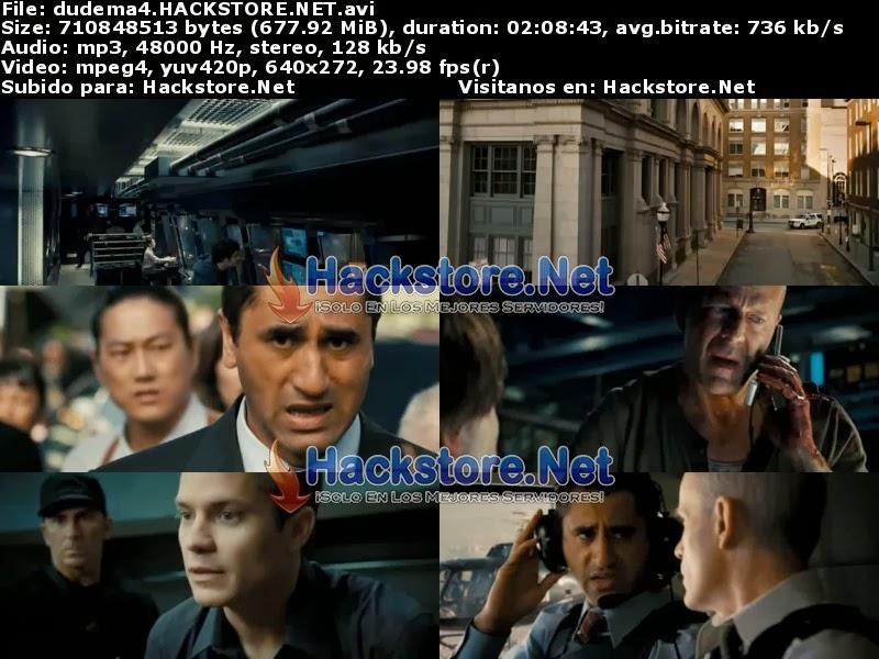 Captura Duro de Matar 4.0 (2007) DVDRip Latino