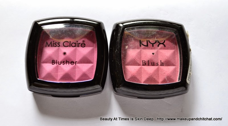 Dupe of Mynx Blusher| Miss Claire Blusher