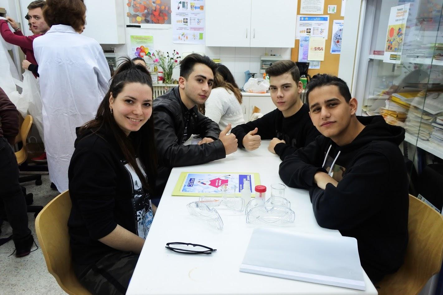 Οι μαθητές μας στο EUSO 2018
