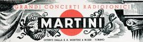 I Grandi Concerti Radiofonici MARTINI in RAI