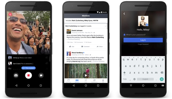 Facebook Mentions for Android