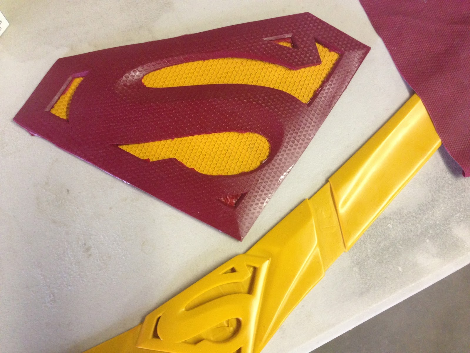 The Project Workbench Superman Returns Costume Rd Update