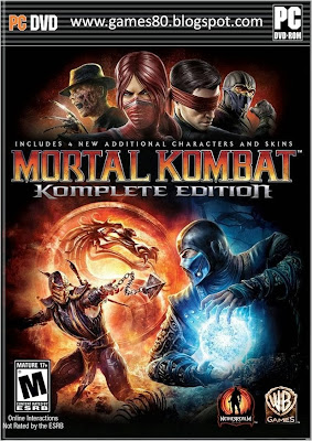 DOWNLOAD MORTAL KOMBAT 4 FREE FULL GAME