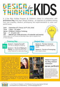 Design Thinking for Kids: 8 and 9 December 2016