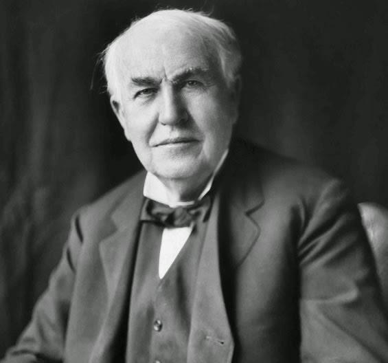 Thomas Alva Edison - the vegetarian inventor and businessman