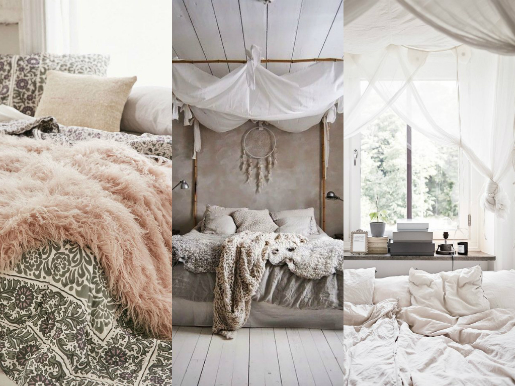 BOHO SCHLAFZIMMER IN GEDECKTEN TÖNEN | The Mermaids Candy