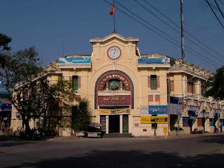 Postal ffice Haiphong (Vietnam)