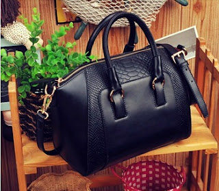Black Tote bag, High fashion bag, Luxury bag