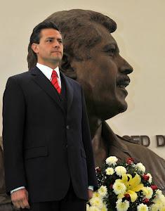 Enrique Peña Nieto rinde homenaje a Luis Donaldo Colosio