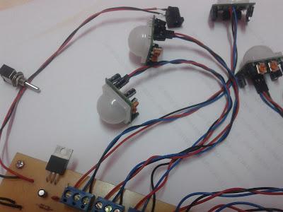 Projek Elektronik Penggera Rumah Motion Sensor