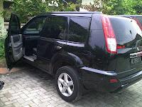 Proses Pengecekan  Mobil Nissan XTrail B 1609 K Jakarta Ke Makasar