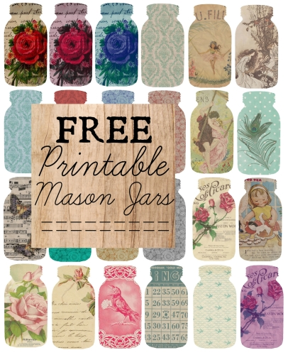 Current image with regard to free printable mason jars