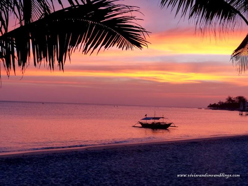 sunset at Morong Beach, Bataan