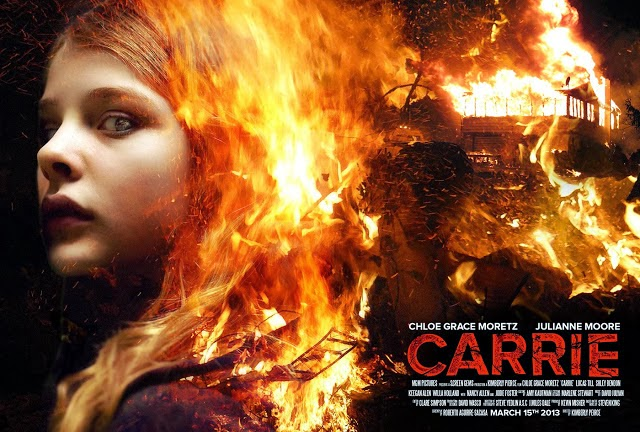 Carrie Movie Poster part 3 Cơn Thịnh Nộ Của Carrie