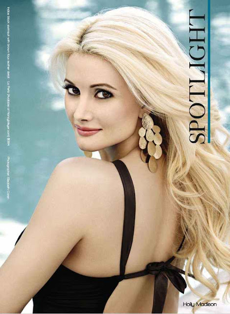 American Model Holly Madison