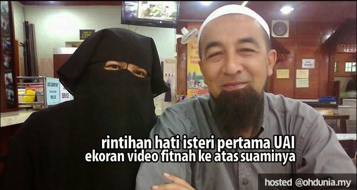 Rintihan Hati Isteri Pertama UAI Ekoran Video Fitnah Ke Atas Suaminya !..