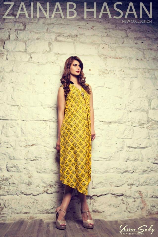 Latest Winter Royal Dresses 2015 by Zainab Hasan