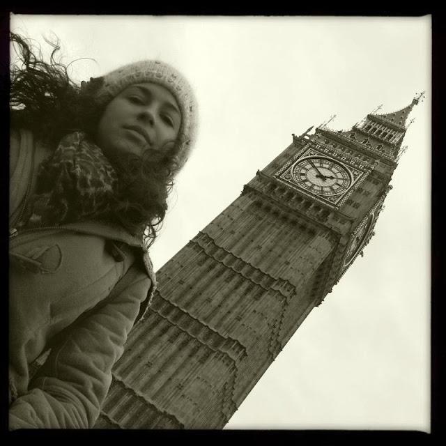 Españoles en Inglaterra. Ana en Londres.