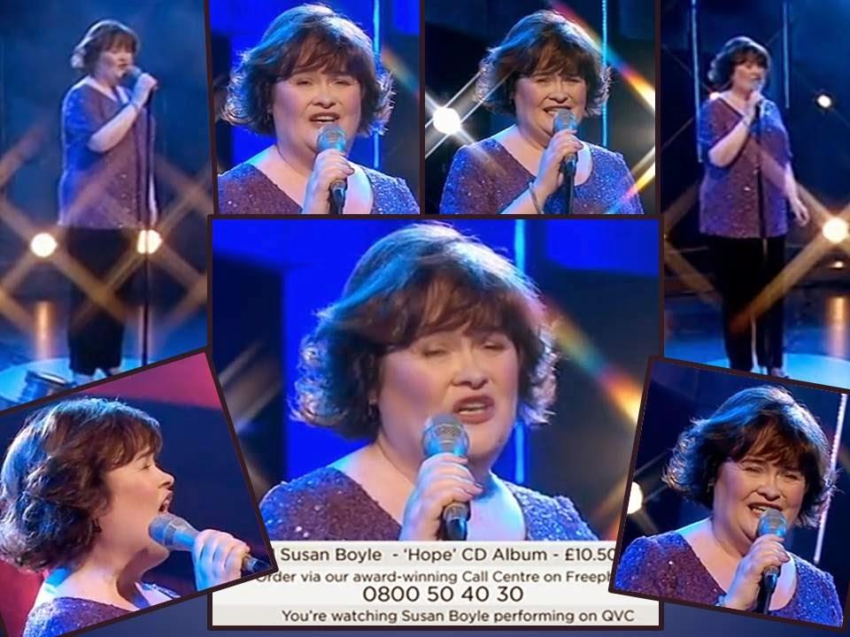 Susan Boyle on QVC